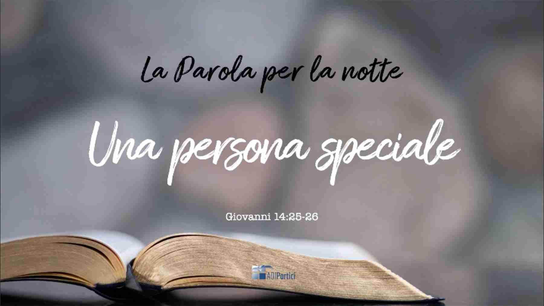 11. Una Persona speciale